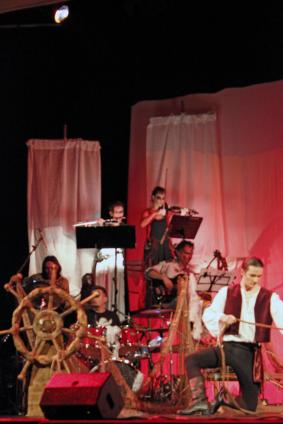 """The rime of the ancient mariner"", teatro Verdi 16.12.12. Photo by Francesca Zanetta"