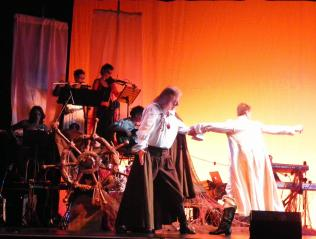 """The rime of the ancient mariner"", teatro Verdi 16.12.12. Photo by Maurizio Cavalca"