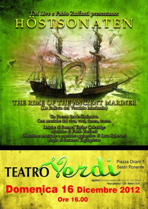 locandina teatro vera